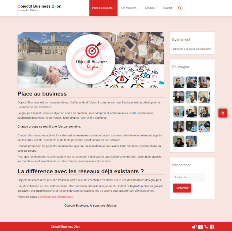 illustration site Objectif Business Dijon